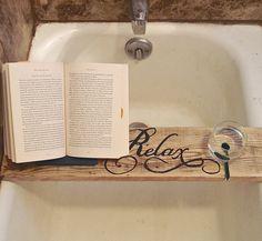 Bath Tray Bathtub Shelf Bathtub Board Bath By PurposelyRestored