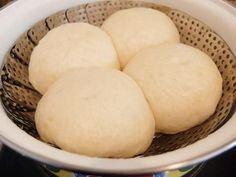 Bao-tzu ó Baozi (Pan chino relleno cocinado al vapor)