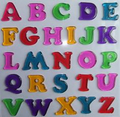Image result for jelly letters