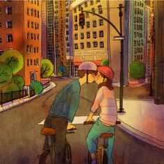 Bicycles by Puuung