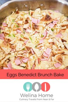 Easy brunch for a large crowd with this delicious Eggs Benedict brunch Bake from Welina Home. Quick Dinner Recipes, Meal Recipes, Other Recipes, Yummy Recipes, Yummy Food, Brunch Casserole, Casserole Recipes, Camping Breakfast, Breakfast Recipes