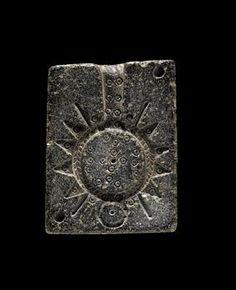 Phoenician Steatite Jewelry M Jewelry   Date:  1900 BC - 1600 BC, 1600 BC - 1200 BC Culture:  Phoenician Category:  Jewelry