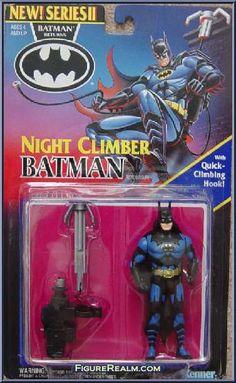 Kenner Batman Returns Series 2 Batman (Night Climber) Figure 1994