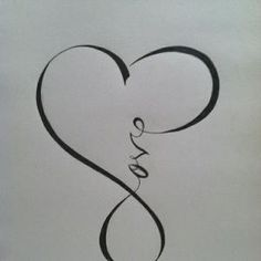 infinity. I love this. my wife wants this as a tattoo by frognurse