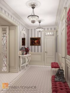 Фото прихожая из проекта «Интерьер шестикомнатной квартиры в классическом стиле, Малый пр. П.С., 160 кв.м.»