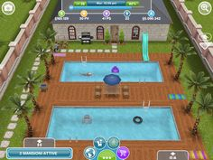 The sims freeplay house - love it