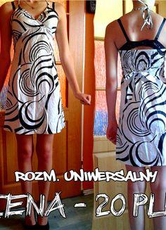 Kup mój przedmiot na #vintedpl http://www.vinted.pl/damska-odziez/inne/10072974-czarno-biala-letnia-sukienka