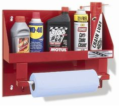 Go Rhino! 2008R Large Oil Bottle Holder with Towel Holder by Go Rhino!. $54.87. These new products are used to store those loose items and enhance the look of your garage, shop or enclosed traile.. Save 22%!