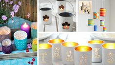 DIY ideas from empty cans: great ideas DIY ideas from empty cans: great ideas In every home, there are certainly used and useless objects hidden in a closet and end up being thrown into the trash. But, with a little imagination and … Cheap Diy Home Decor, Diy Room Decor, Tin Can Crafts, Kids Crafts, Aluminium Box, Cabinet Paint Colors, Diy Inspiration, Ways To Recycle, Recycle Cans