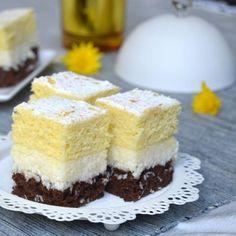 Vanilla Cake, Cheesecake, Desserts, Food, Coconut Brownies, Coconut Cream, Chocolate Sponge Cake, Pastries, Recipes