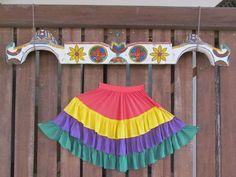 Enagua típica / Typical skirt