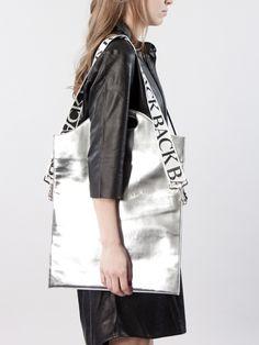 Shopper Silver by Ann-Sofie Back