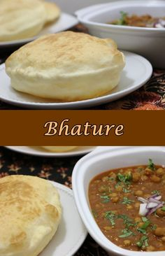 Bhatura or Bhature is one of the most popular Punjabi recipe. The Bhatura is made with maida / all purpose flour and Semolina / sooji. Bhatura are thick leavened fried Indian bread. Bhatura are often eaten with Chhole. The combination of Chhole Bhature is very tasty and very popular all over India. You can make Bhatura so many ways - with yeast, without yeast, with eno, with soda and so on........ the list is endless. I make my Bhature with yeast. The Bhatura comes out very soft and tasty.