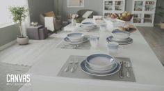 Mix and match with CANVAS Home Towing And Recovery, Canvas Home, Table Settings, Table Top Decorations, Place Settings, Desk Layout