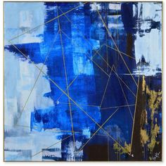 Ren-Wil Blue Dream Canvas, Quick Ship ($349) ❤ liked on Polyvore featuring home, home decor, wall art, multicolor, colorful wall art, blue home accessories, blue canvas wall art, blue wall art and colorful canvas wall art