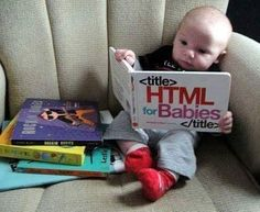 Filho de programador.  #Linux #HTML_FOR_BABIES by tudojuntoemisturado_cg