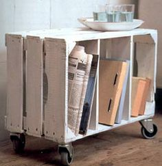 Space Savers: Craft projects from recycled, reused and natural materials.