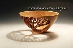 Как сделать деревянную вазу