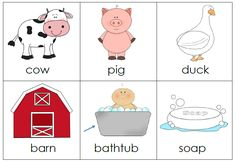 I do a farm theme with my students every year and I always include Mrs. Wishy-Washy's Farm by Joy Cowley and Elizabeth Fuller is great book to include in your farm theme. The book is about a trio o… Preschool Learning Activities, Kindergarten Literacy, Language Activities, Book Activities, Preschool Farm, Preschool Classroom, Teaching Ideas, Farm Lessons, Farm Unit