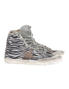 GOLDEN GOOSE FRANCY ALTA ZEBRA