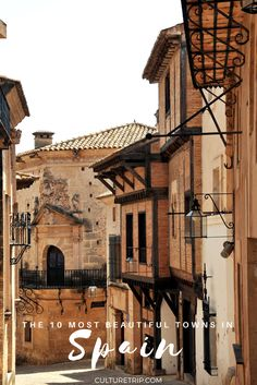 The 10 Most Beautiful Towns In Spain|Pinterest: @theculturetrip