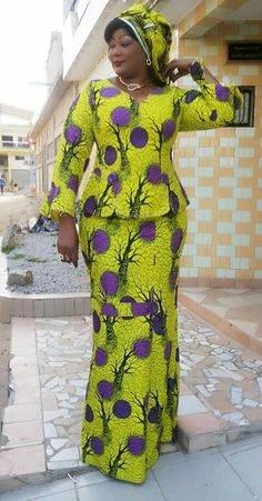2020 Top 25 Native Skirt And Blouse Ankara Styles For The Ladies African Fashion Skirts, African Print Dresses, African Print Fashion, Africa Fashion, African Dress, Ankara Fashion, Skirt Fashion, African Attire, African Wear