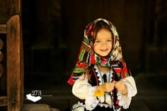 Romanian traditional, hand-embroydered clothes