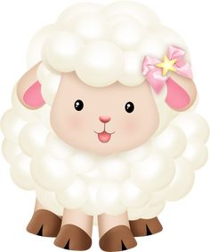 Little Sheep Pink - FastPic Clipart Baby, Eid Crafts, Crafts For Kids, Anime Animal, Lamb Drawing, Nursery Rhyme Party, Eid Stickers, Animal Cutouts, Cute Lamb
