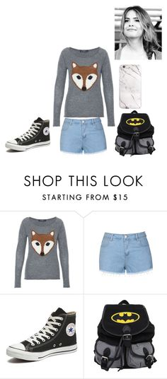 """Malia Hale"" by lavinia-muniz on Polyvore featuring Hallhuber, Ally Fashion and Converse"
