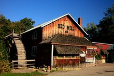 the Crystal River Grist Mill, Built 1855), Waupaca County, Wisconsin ...