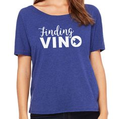 8260d5b6 Items similar to Finding Vino Shirt - Wine TShirts for Women - Food and  Wine Festival Shirts - Funny Wine Gifts - Wine Sayings Shirt - Wine Lover  Gift on ...