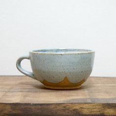 Hey, I found this really awesome Etsy listing at https://www.etsy.com/listing/294754923/light-blue-modern-rustic-latte-mug