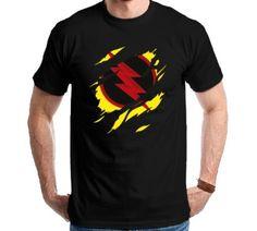 Camiseta The Flash - Dr. Harrison Wells Camisa Reverso - R$ 50,00