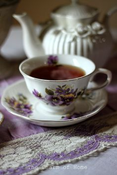 The Charm of Home: Primrose Tea