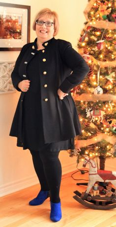 January 2018 - Gatineau blogger Linne Villeneuve sporting her military jacket from Joseph Ribkoff - as part of her fashion blog. She's wearing it 5 different ways, and beautifully showcases how versatile this structured piece can be. bravo!  Shepherdsfashions.com January 2018, Joseph, Military Jacket, Blog, How To Wear, Jackets, Outfits, Beauty, Fashion