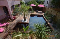 Une piscine 100% bois - Les 15 plus belles piscines des Trophées de la piscine - CôtéMaison.fr