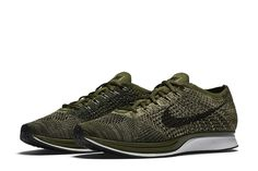 Nike Flyknit Racer Rough Green-2