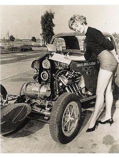 Street Rodder: Karen Jensen, 1960s