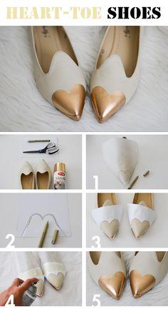Come rappresentare l'amore per le scarpe...anche per le scarpe! Oops!
