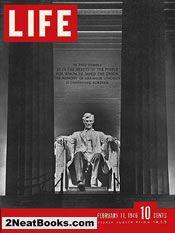 Lincoln Memorial life magazine cover