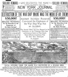 TIL Yellow Journalism is a type of journalism that presents little or no legitimate well-researched news and instead uses eye-catching headlines.