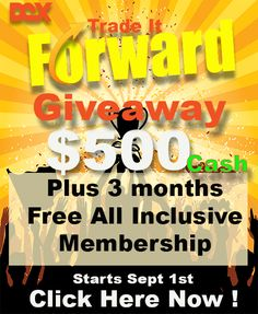 Trade it forward giveaway