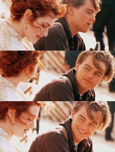 """I remember the lines from this scene in the movie!! """"You have a gift, Jack. You do. You see people."""" Rose says. """"I see you,"""" Jack states. """"And?"""" Rose asks. """"You wouldn't of jumped."""" Jack says."""