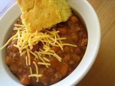 Wendy's Copycat Chili. My favorite chili...and now I can make it at home!