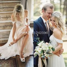 Casamento Simple Bohemian Backless Sweetheart Beaded Bridal Gown Boho Wedding Dress 2015 Beach Wedding Dresses Vestidos De Noiva-in Wedding Dresses from Weddings & Events on Aliexpress.com | Alibaba Group