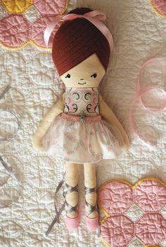 Ballerina doll by Retro Mama