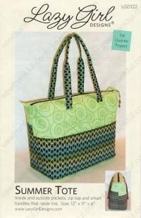 "this is another one that is on my ""to do list"" my daughter wants a tote for going to the Gym.  This is one I am considering.  the only down side is this one does not use batting.  Only fuses the outer and lining fabrics together for body.   The pattern costs $7.99 at Sewthankful.com"