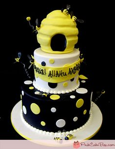 Beehive Cake, wanna make some thing like it for Liam's party, just smaller.