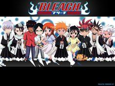 Bleach Anime Chibi Background