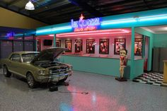 Custom American Diner Fitout